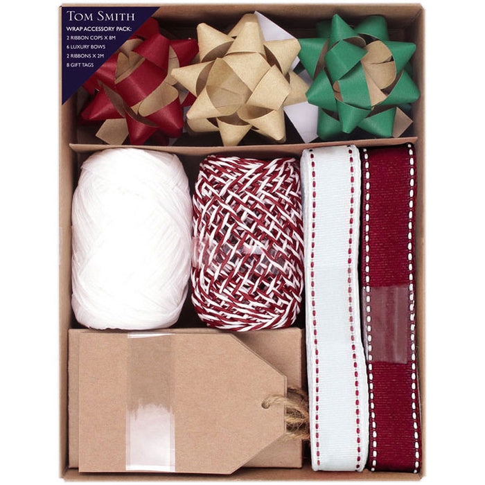 Kraft Christmas Wrapping Accessory Pack