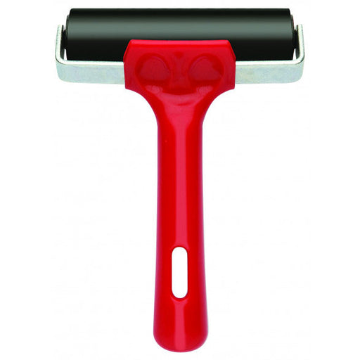 Lino Roller 100mm Red Handle