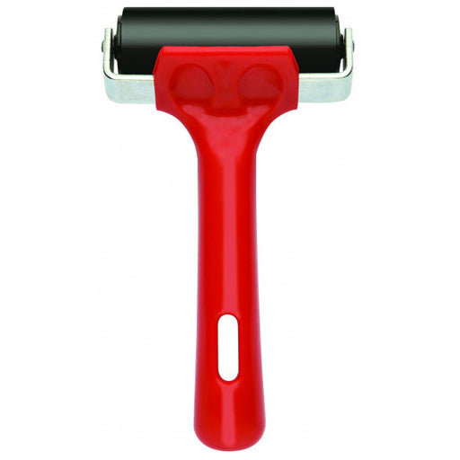 Lino Roller 75mm Red Handle