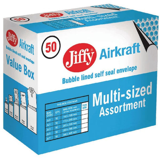 Jiffy AirKraft Bag Assorted Sizes Gold JL-SEL-A