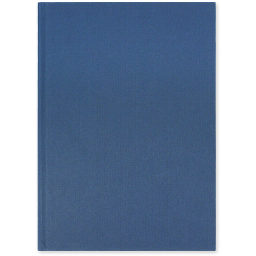 Blue Casebound Notebook A4