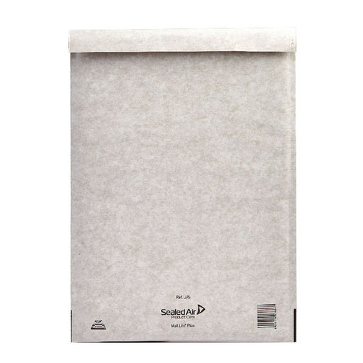 Mail Lite Plus Bubble Lined Size J/6 300x440mm Oyster White Postal Bag MLPJ/6