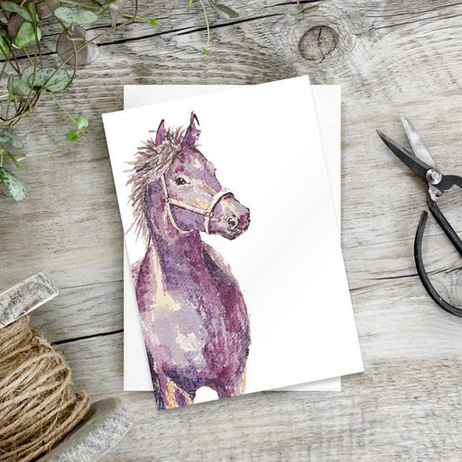 Horse – Set Of 6 Notecards
