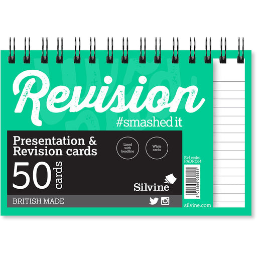 Revision Note Cards Assort 152x102mm Twinwire Pad 50