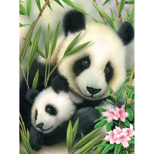 Paint By Numbers Junior small Panda & Baby