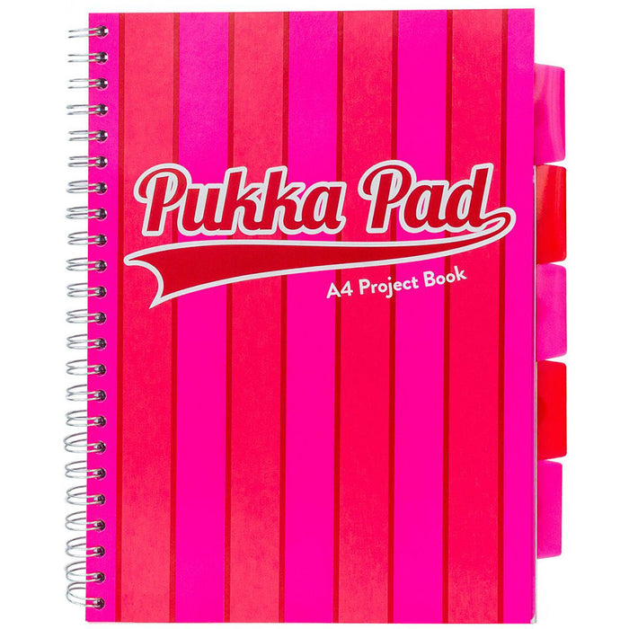 Pukka Vogue A4 Project Book Pink