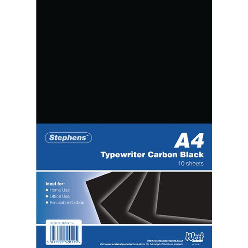 Stephens Black Typewriter Carbon A4 Paper RS520153