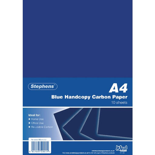 Stephens Blue A4 Hand Carbon Paper RS520252