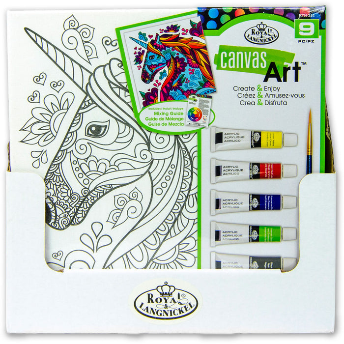Canvas Art - Unicorn