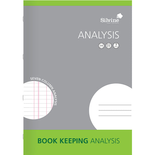 A4 Journal Printed Analysis Book