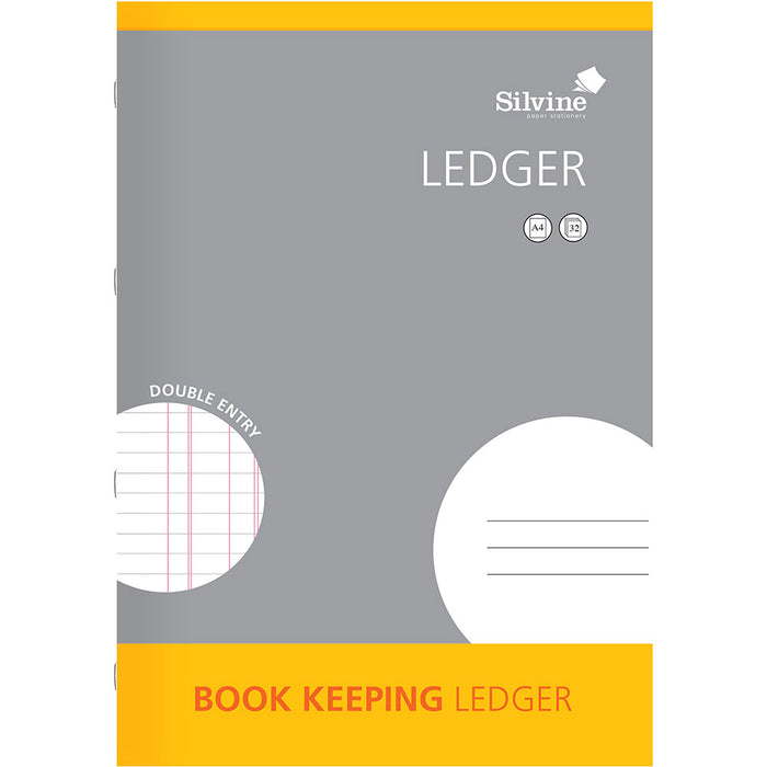 A4 Book Keeping Ruled Double Entry