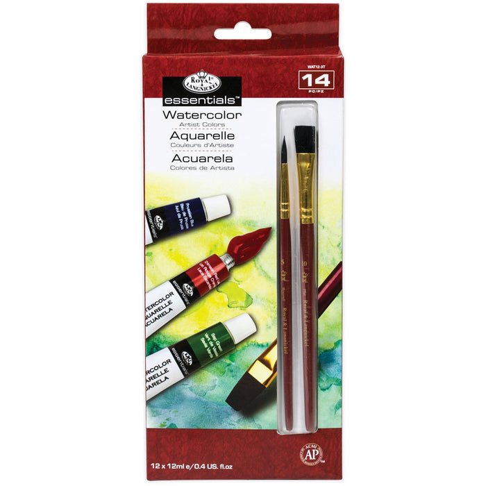 Essenstials Watercolour 12 tubes