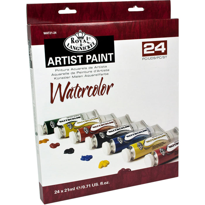 21ml Watercolor Paint 24 tubes
