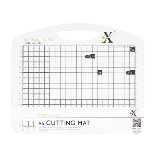 A5 Self Healing Duo Cutting Mat - Black & White