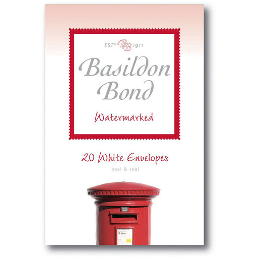 Basildon Bond White Envelopes Medium