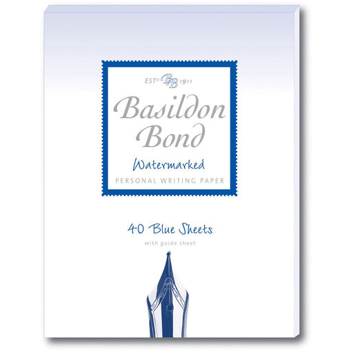 Basildon Bond Blue Writing Pad
