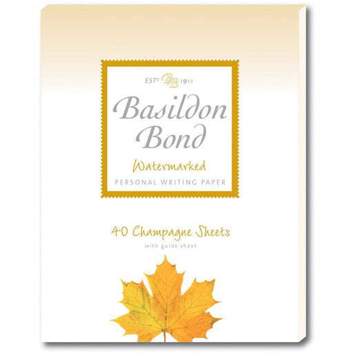 Basildon Bond Champagne Writing Pad