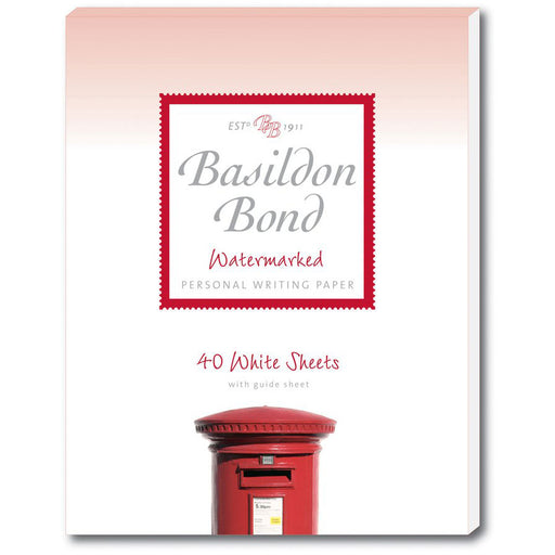 Basildon Bond White Writing Pad Medium