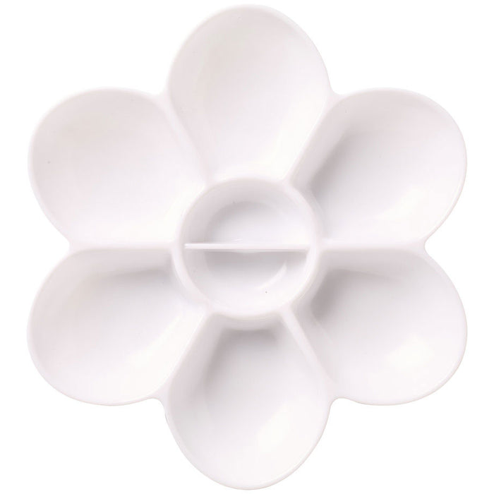 Plastic Flower Shaped Palette
