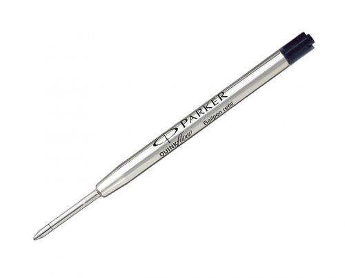Parker Quinkflow Ball Pen refill Medium Black Blister