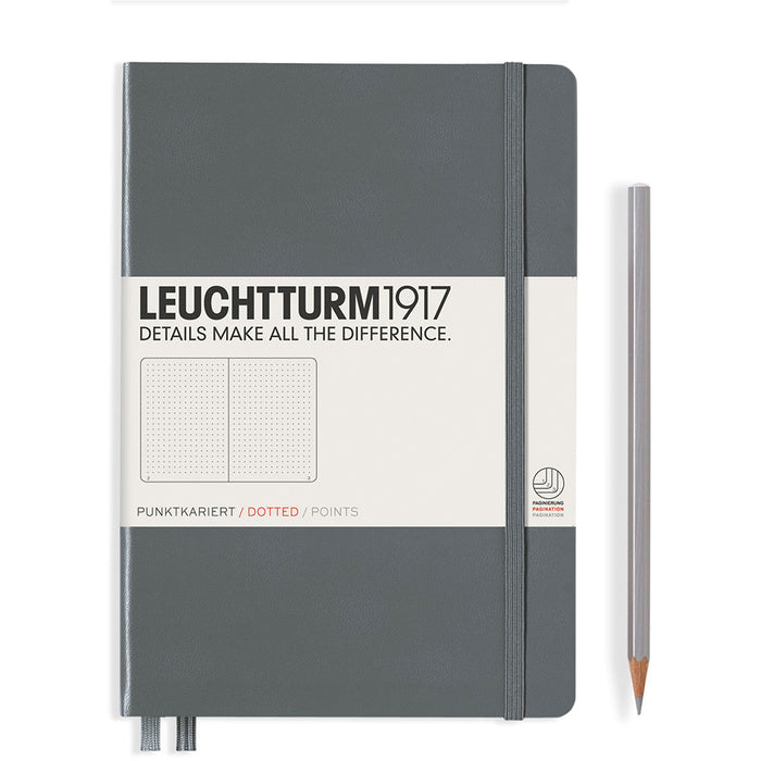 Hardcover Notebook Medium A5 Dotted