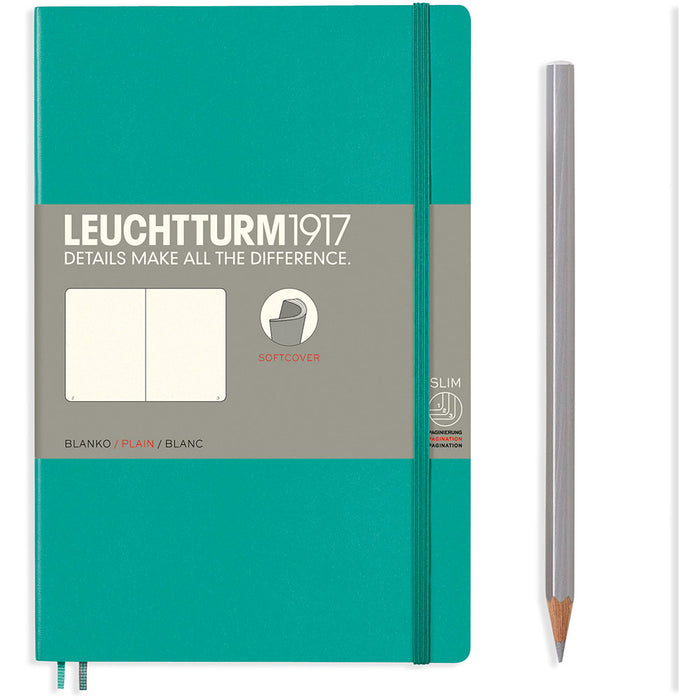 Softcover Paperback Notebook B6+ Plain