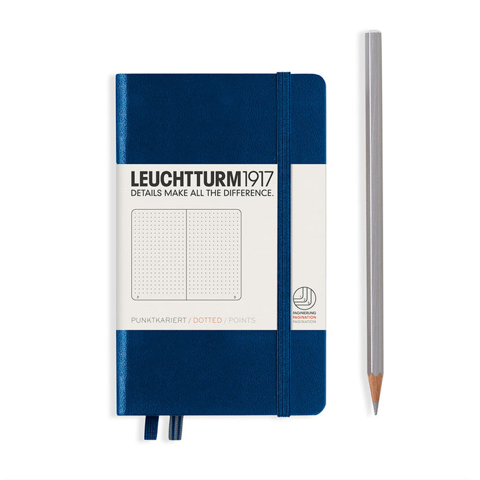 Hardcover Notebook Pocket A6 Dotted