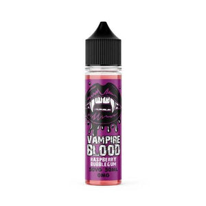 RASPBERRY BUBBLEGUM VAMPIRE BLOOD E-LIQUID - VapeRoad1