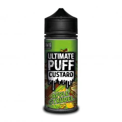 ULTIMATE PUFF E-LIQUID APPLE STRUDEL 120ML - VapeRoad1