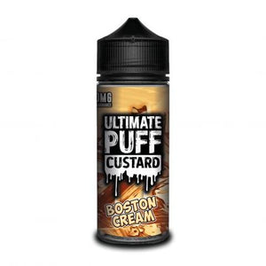 BOSTON CREAM ULTIMATE PUFF E-LIQUID 120ML - VapeRoad1