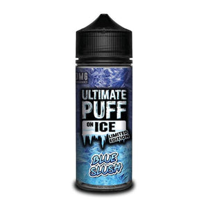 ULTIMATE PUFF ON ICE BLUE SLUSH 120ML - VapeRoad1