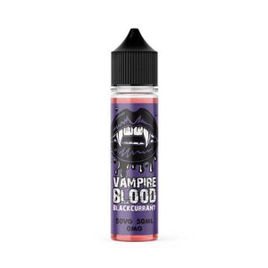 BLACKCURRANT VAMPIRE BLOOD E-LIQUID 60ML - VapeRoad1