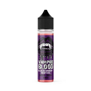 BLACKCURRANT MENTHOL VAMPIRE BLOOD E-LIQUID 60ML - VapeRoad1