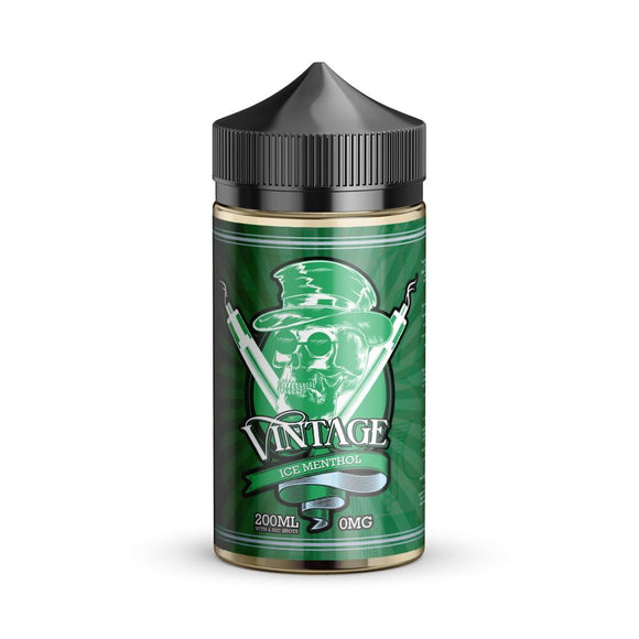 ICE MENTHOL 200ML E LIQUID VINTAGE