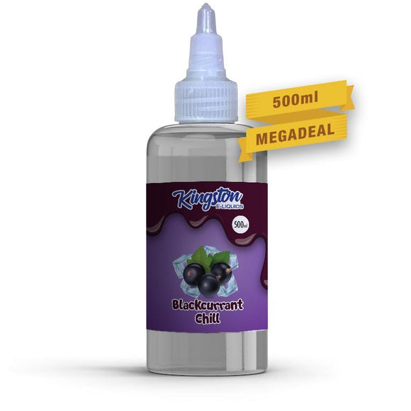 KINGSTON E-LIQUID 500ML - Blackcurrant Chill - VapeRoad1