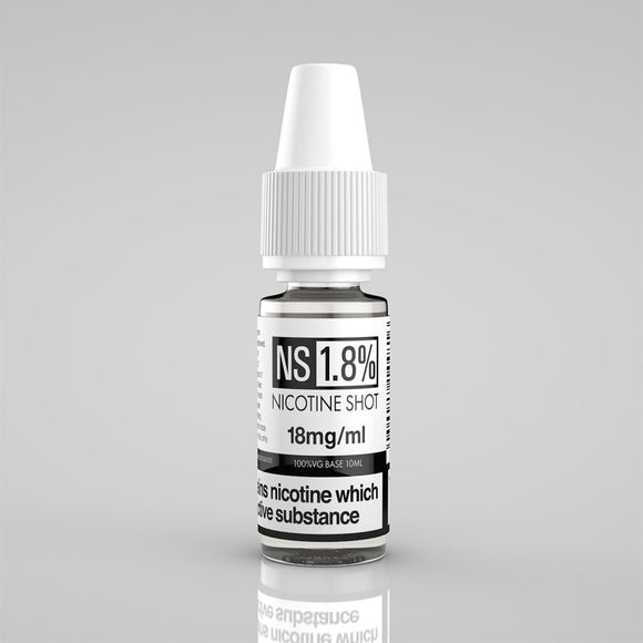 Nicotine Shot 18MG 10ML - VapeRoad1