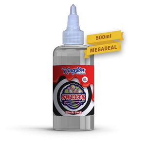 KINGSTON E-LIQUID 500ML - BLACKJACK - VapeRoad1