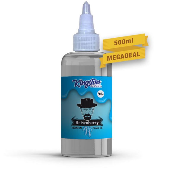 KINGSTON E-LIQUID 500ML - Heisenberry - VapeRoad1