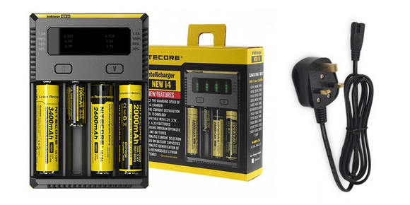Nitecore Intellicharger NEW i4 V2 4-Slot Charger - VapeRoad1