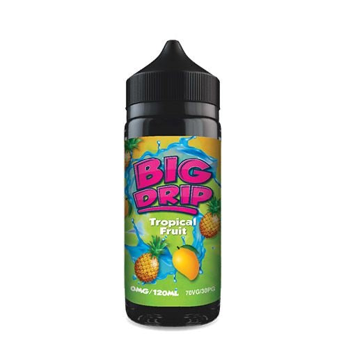 Big Drip Tropical Fruit Shortfill E-Liquid 100ml
