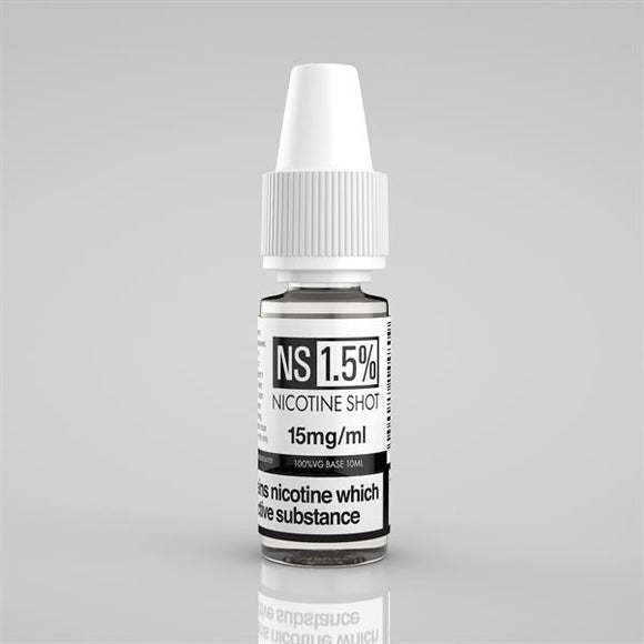 Nicotine Shot 15MG 10ML - VapeRoad1
