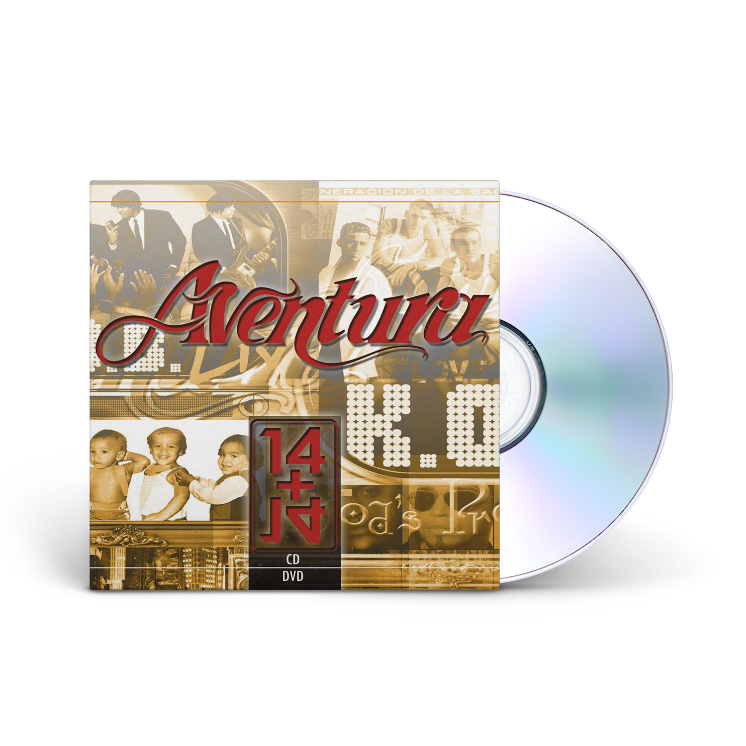 Aventura's 14 Plus 14 CD/DVD