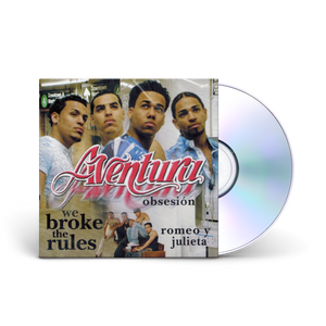 Aventura's We Broke the Rules CD