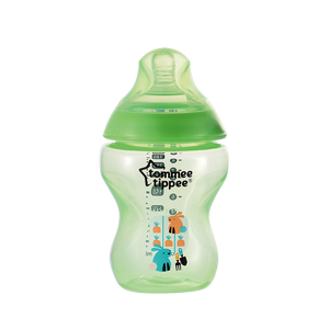 Closer to Nature® 260ml PP 印花奶瓶 -  綠色 422572