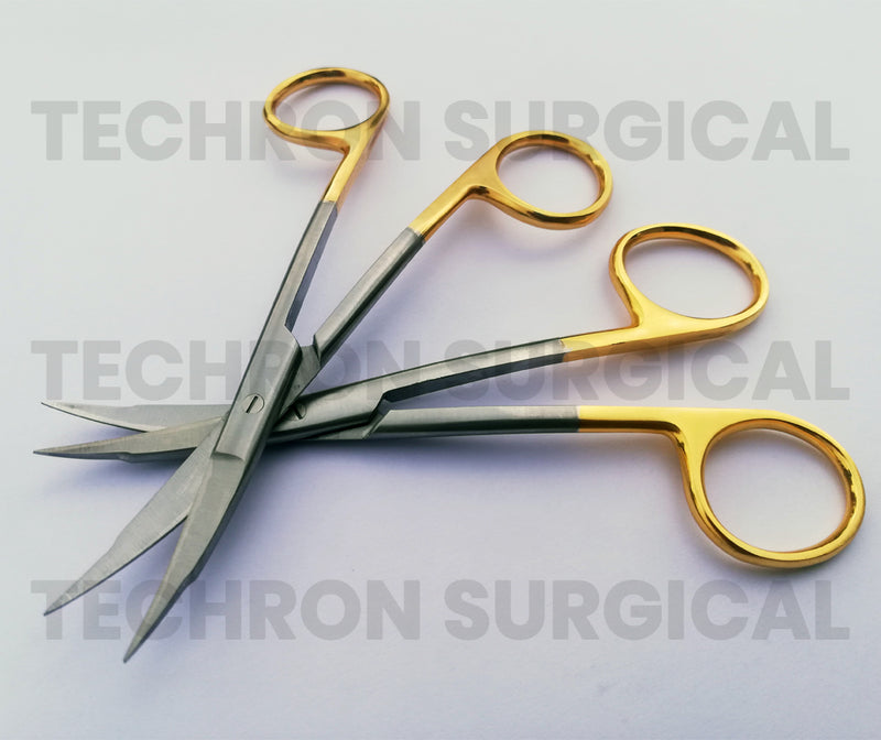 Goldman Fox TC Scissors Double Curved 13 cm