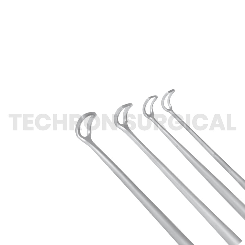 "Barnhill Adenoid Curette 8-1/2"" Curved"