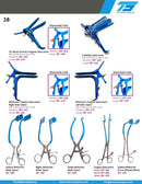 LLETZ/LEEP Kogan Endocervical Speculum with Ratchet 24cm