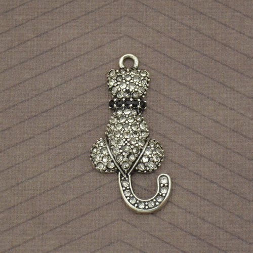 Pet Lover- Cat Crystal Charm