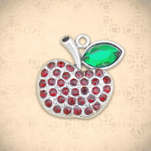 Occupations- Crystal Apple Charm