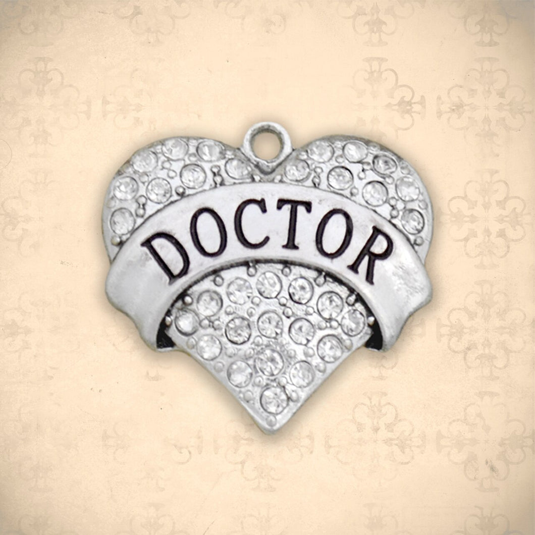 Occupations- Crystal Doctor Heart Charm